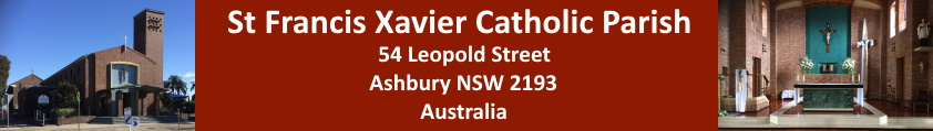 Parish Of St Francis Xavier, Ashbury, NSW, Australia